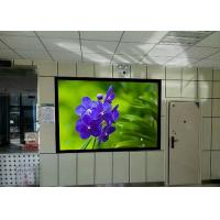 China 110-240V High Brightness led advertising screens Steel or Aluminum Cabinet on sale