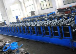 China Grain Silo Steel Corrugated Panel Roll Forming Machine For Hydraulic Punching on sale