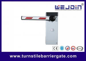 China Highly Secure Intelligent Barrier Gate Electric Manual Release With Straight Barrier Arm on sale
