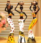 Africa Lady articles and craftwork Decoration