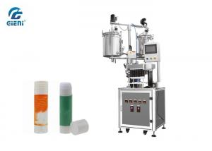 China Semi - Automatic Silicone Glue Stick Filling Machine With 12 Nozzles on sale