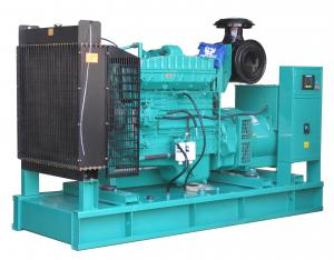 China 350kva / 280kw Cummins Engine Diesel Generator With Electric Starting on sale