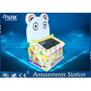 China Coin Operated Raccoon Hitting Children Hammer Arcade Game Machine on sale
