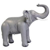 """Soft And Lightweight PVC Advertising Elephant Inflatable Zoo Animals 30"""" Tall"""
