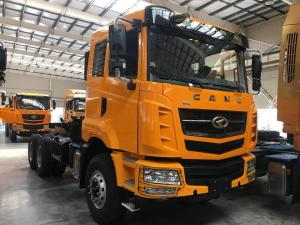 China CAMC 10 Wheel Prime Mover Truck , 6 X 4 Tractor Head Truck 40 Ton 375hp on sale