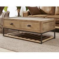 Pine Wood Trunk Living Room Table, Vintage Steamer Trunk Coffee TableWith Drawers