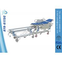 Cold Roll Steel Ambulance Patient Transfer Stretcher Cart For Operation Room