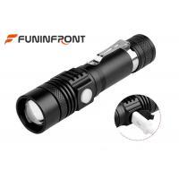 Long Shot Range T6 LED Zoom Torch, MINI USB Rechargeable LED Flashlight