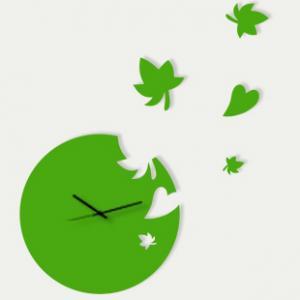 China Battery Power Decorative Acrylic Art Decorative Contemporary Wall Clocks LY-063 on sale