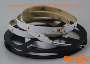 China SMD 3528 30D Flexible LED Strip Lights Cool White 2.4 Watts / Meter For Amusement Park on sale