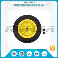 Inflatable Pneumatic Rubber Wheels 16mm Inner Hole Plastic Rim Bush Bearing 3.50-8