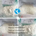 Benzocaine Local Anesthetic Drug Powder Benzocaine HCL for Pain Reliever CAS 94-09-7