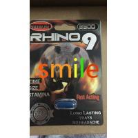 Red Pill Male Enhancement Rhino 9 Platinum 3500 , Rhino Stamina Pills / Sex Capsule