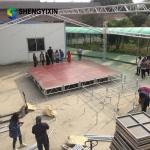 1.22*1.22M Easy Assemble Stage for concert event stage for outdoor performance stage platform