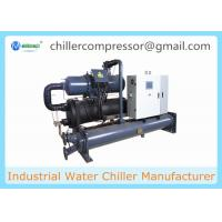 100 Tons Screw Compressor Water Cooled Chiller for Plastic Injection Molding Machine