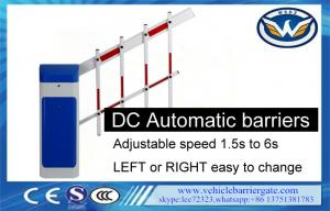 China L/R Changeable Automatic Barrier Gate Fence Arm 1m-6m Length Remote Control on sale