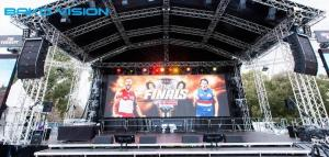 China Rental LED Display Stage Event P4.81 Outdoor Nationstar Screen RGB SMD With Die-casting Aluminum Cabinet on sale