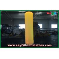 China Customized Pink Inflatable Lighting Decoration 4m Lamp Poles For Event on sale