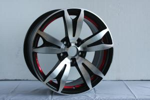 China 12 / 13 / 14 / 15 Inch Full Painted Polish Car Alloy Wheels 4 - 5 Holes Customized on sale