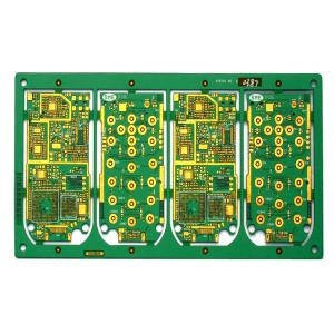 China Half Hole High Tg HDI 4G Module Communication Multilayer Circuit Board PCB on sale