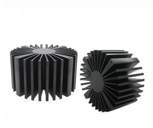China Solid Aluminum Extrusion Profiles , Led Lightling Extruded Heat Sink on sale