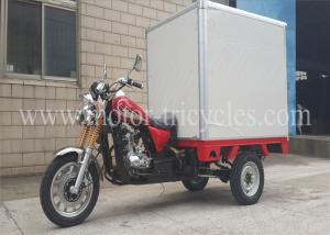 China 5 Speed Three Wheel Cargo Motorcycle With Manul Clutch Electrical Kick on sale