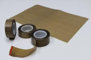 China 180um heat resistant PTFE teflon tape with release liner on sale