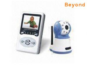 China Video/Audio Wireless Baby Monitor with IR Night Vision, AV Output and Auto-awake on sale