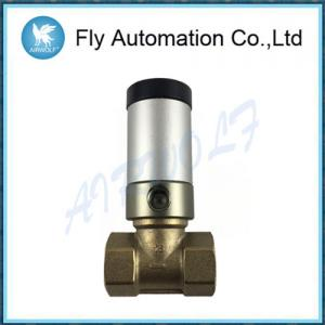 "Quality Q22HD-15 Automotive Auto Parts 1/2"" 2/2 Ways Pneumatic Tube Valve Air Control Actuator Water Brass Valve for sale"