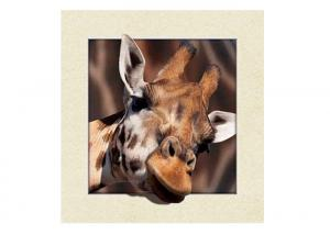 China Animal Stock 5D 3D Lenticular Pictures PET Printing Service Deer image on sale