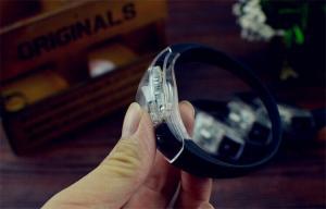 China 10 Inches Led Flashing Bracelet / Motion Sensor Bracelet Large Size on sale