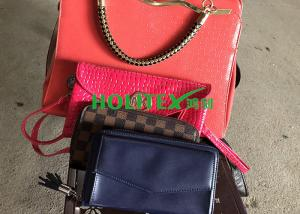 China Women / Men Second Hand Wallet , American Style Used Leather Bags For Africa on sale