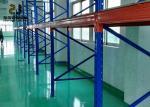 Steel Q235 / 245 Power Coated Heavy Duty Storage Racks / Warehouse Shelving