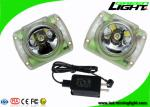 Small Size Rechargeable LED Mining Light PC Material 13000lux 14-16hrs Working Time