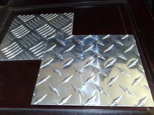 China High Tensile Embossed Aluminum Sheet Aluminium Checker Plate on sale