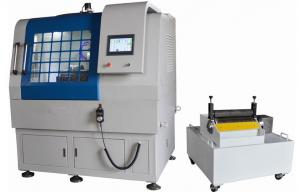 China Lab Metallographic Cutting Machine Sample Cutting Machine Max Cut Section 300x150 mm on sale