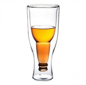 China Handmade blown Glasses beer cup on sale