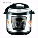 5 Quart Electric Pressure Cooker , Electronic High Pressure Cooker Knob Switch Control