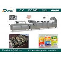 Chikki / Muesli Cereal Bar Making Machine , Fruit Bar Production Line
