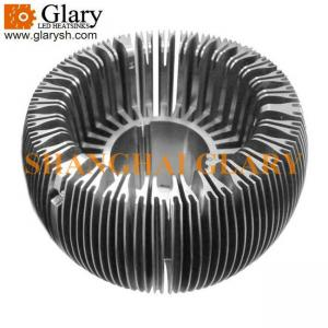 China GLR-HS-076 135mm Machined LED Lamp Cup Heatsink, Cooler on sale