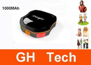 China Mini portable gps tracker 1000MAh Battery IPX6 Mini Waterproof GPS Tracker G-TKSTAR For Kids Elder Cats and dogs on sale