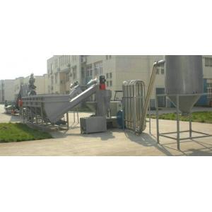 China Plastic Recycling Granule Machine , 50HZ PET Bottle Washing Machine on sale