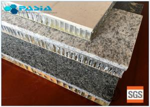 China Durable Honeycomb Stone Panels 25mm Thickness Marble Flat Board 10 Years Guarantee on sale