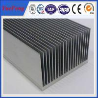 China wholesale Large extruded aluminum heatsink, OEM heat sink fin aluminum extrusion profile on sale