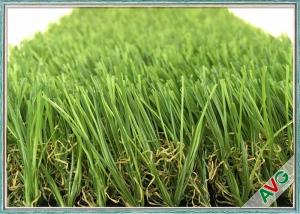 China Green Color Friendly Pet Fake Grass / Artificial Grass For Animal Decorations on sale