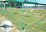 25KG 400M PVC Coated Barbed Wire Fence Wire Mesh Fence 1.6mm - 2.8mm Dia
