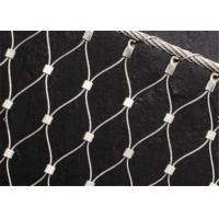 X-tend Ferruled Climber Plant Trellis Mesh, Zoo Stainless Steel Wire Rope Mesh