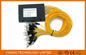 China High Precise FTTH Network Passive Optical Splitter Module FC UPC SM 2.0mm on sale