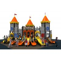 new designe colorful castle  slide  and  outddoor playground equipment for kids
