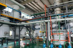 China Waste Plastic  Process Waste Oil To Diesel Machine  50% To 90%  Oil Ratio on sale